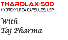 capsules providing 500 mg hydroxyurea